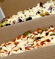 Gluten Free Pizza dine-in or delivery throughout LA!
