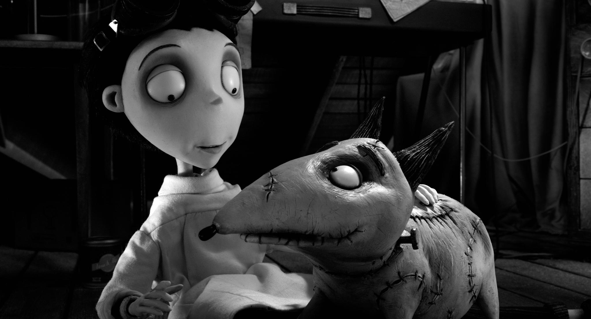 FRANKENWEENIE Trailer Premiere – Disney