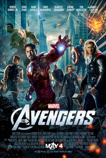 MARVEL'S THE AVENGERS **Giveaway**