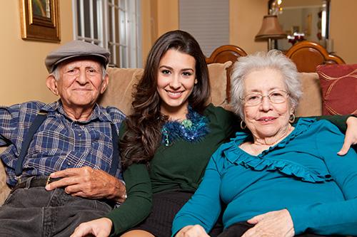 Grandpa Grandma Girl