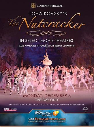THE NUTCRACKER MARIINSKY BALLET 3D *Giveaway*