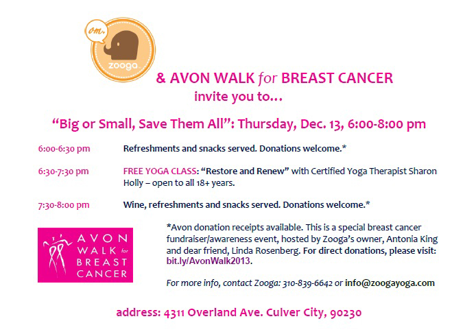 Free Yoga For A Cause: Culver City